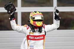 Racewinnaar Rio Haryanto, Campos Racing