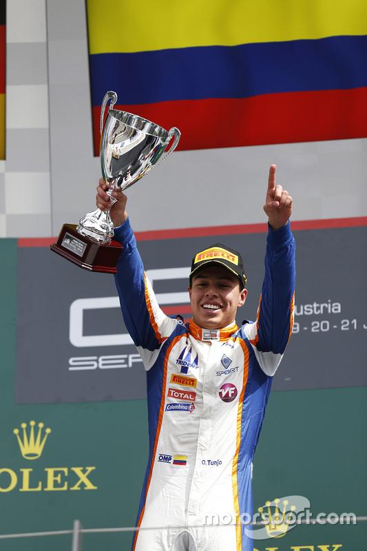 Juara balapan Oscar Tunjo, Trident