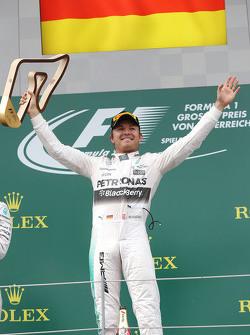Race winner Nico Rosberg, Mercedes AMG F1 Team