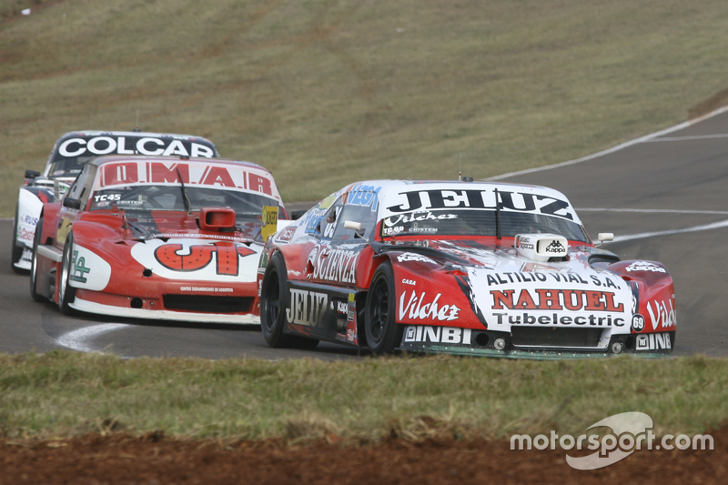 Pedro Gentile, JP Racing Chevrolet, dan Christian Dose, Dose Competicion Chevrolet, dan Gaston Mazzacane, Coiro Dole Racing Chevrolet