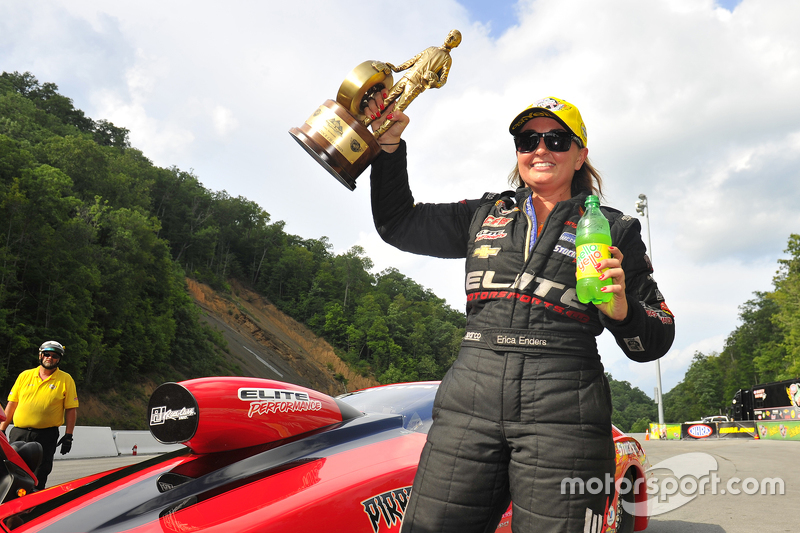 Pro Stock winner Erica Enders