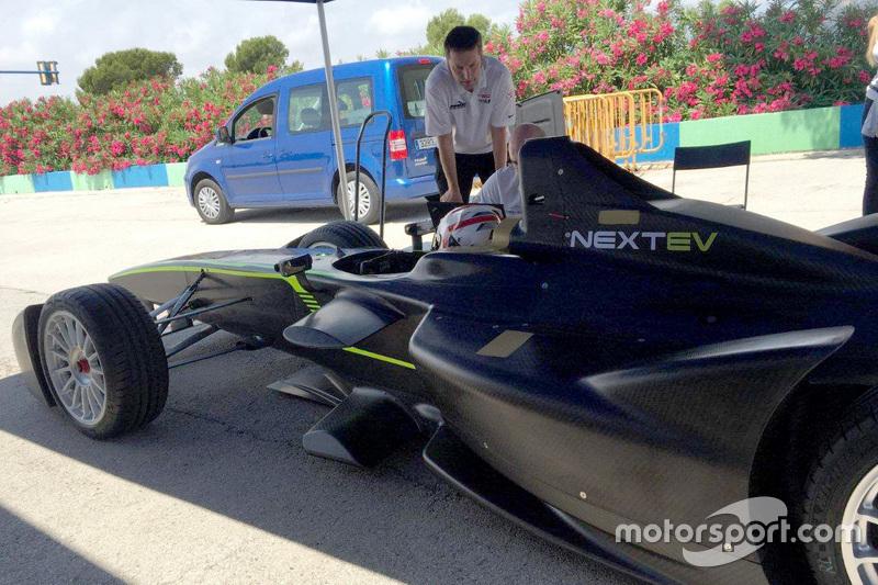 Team China Racing testet neue Komponenten für den Antriebsstrang