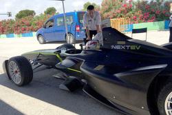 Команда China Racing тестирует новые элементы