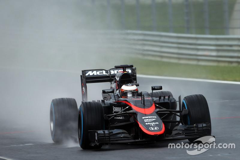 Stoffel Vandoorne, McLaren MP4-29H, Test- und Ersatzfahrer