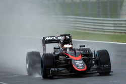 Stoffel Vandoorne, McLaren MP4-29H Tester e terzo pilota