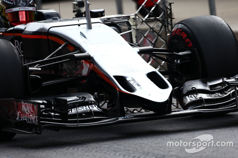 Паскаль Верляйн, Sahara Force India F1 VJM08 Тестовий гонщик переднє крило в деталях