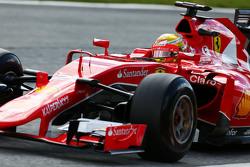 Esteban Gutierrez, pilote d'essais et de réserve Ferrari SF15-T