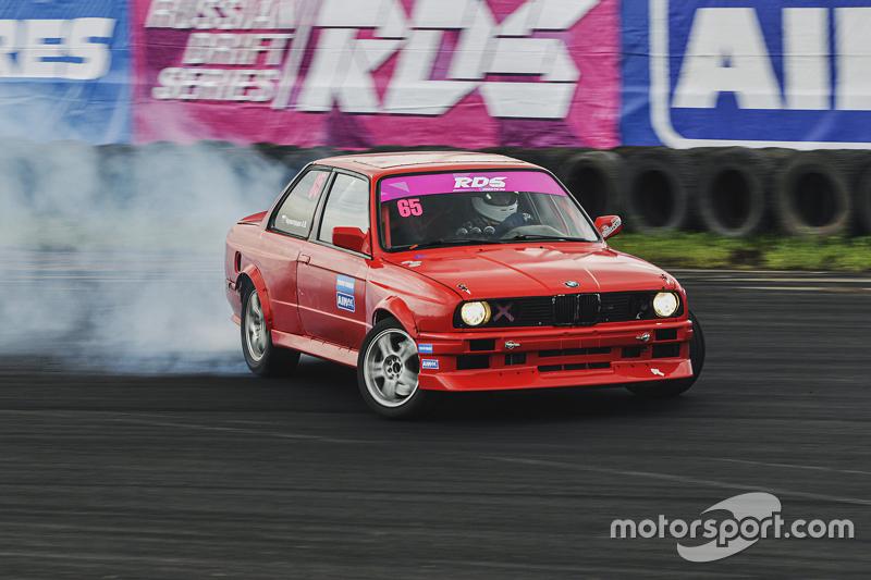 Андрей Черногорцев, BMW E30 во время квалификации