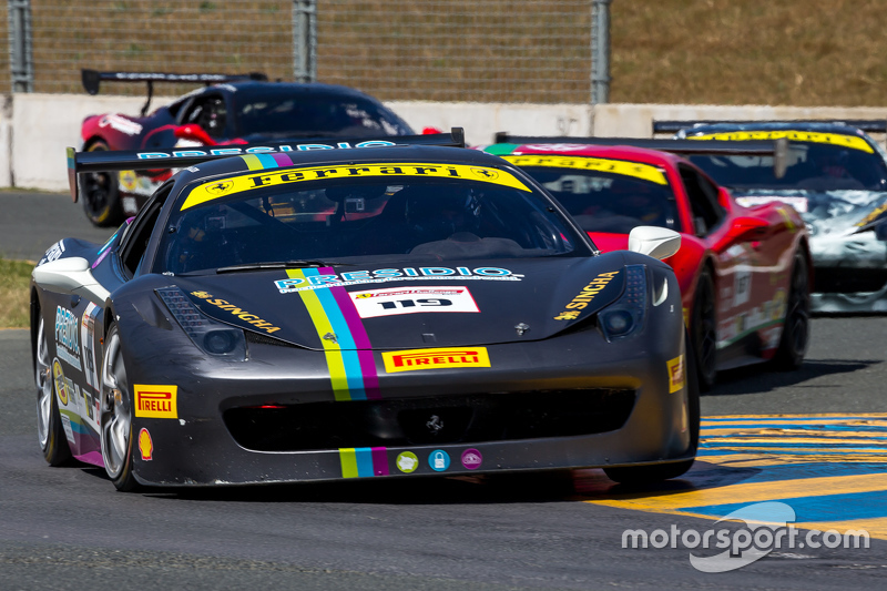 #119 Ferrari of Long Island, Ferrari 458: Chris Cagnazzi