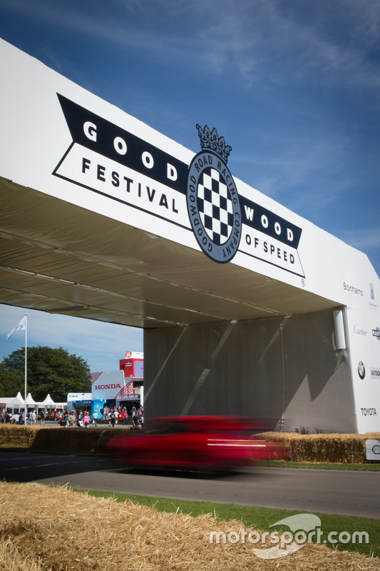 Goodwood Festival of Speed signage