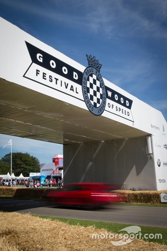 Goodwood Festival of Speed: Autogrammstunde