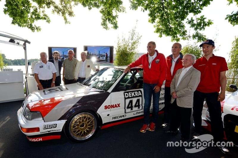 Мероприятие в честь 25-летия выступлений Audi в DTM