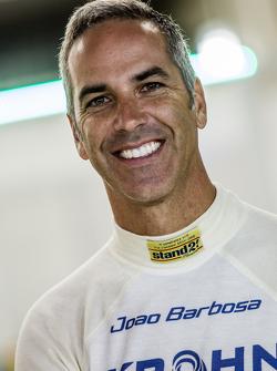 #40 Krohn Racing Ligier JS P2: Joao Barbosa