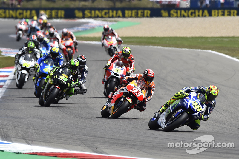 Start: Valentino Rossi, Yamaha Factory Racing