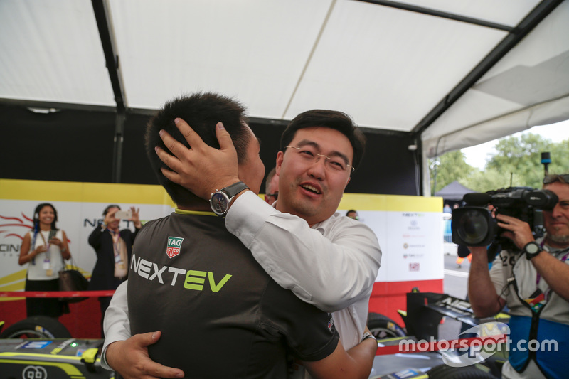 China Racing святкуваннячемпіонат