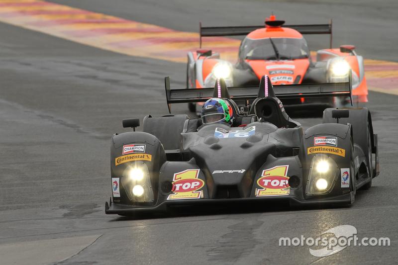 #16 BAR1 Motorsports Oreca FLM09: Todd Slusher, John Falb