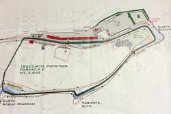 Konzeptstudie: Formel-E-Strecke in Imola