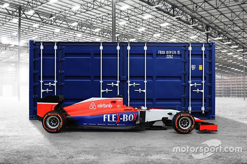 New sponsor livery for Manor