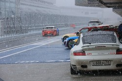 Снегопад на Сочи Автодроме
