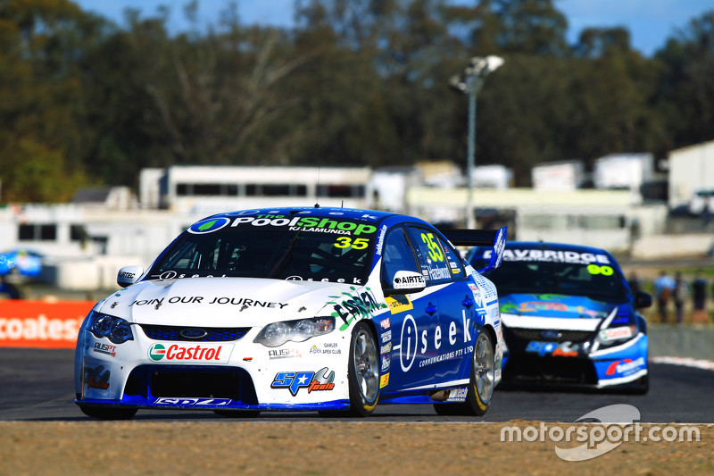 Dunlop-Series-Fahrer Todd Hazelwood in Winton
