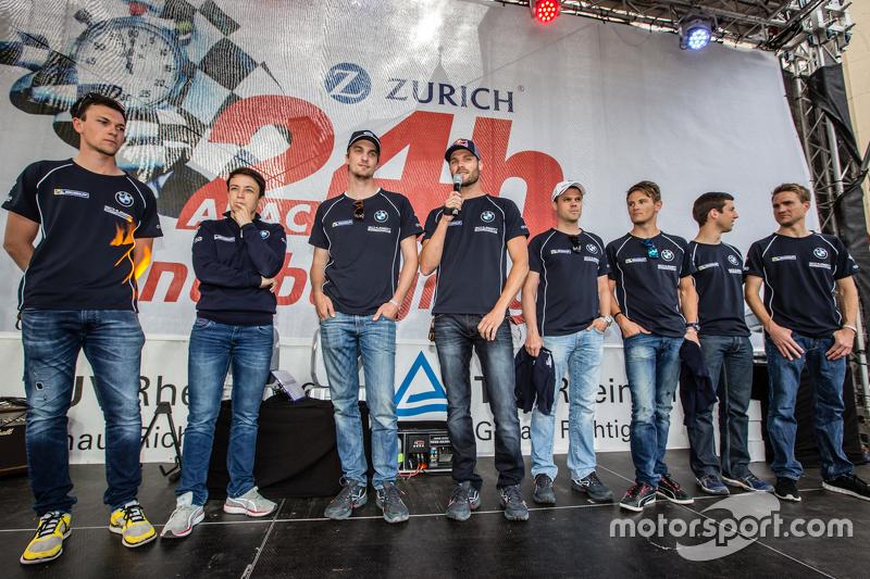 Schubert Motorsport: Dominik Baumann, Claudia Hürtgen, Jens Klingmann, Martin Tomczyk, Dirk Müller, Alexander Sims, Dirk Werner, Marco Wittmann