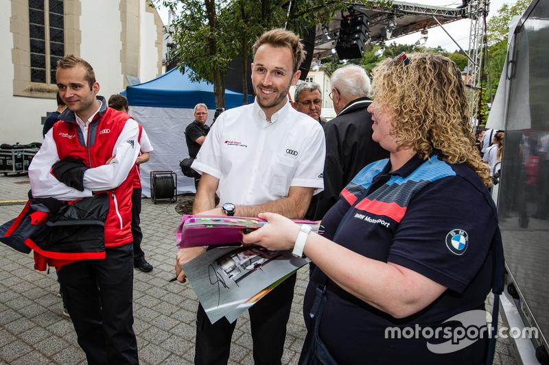 #1 Phoenix Racing, Audi R8 LMS: Christopher Haase und René Rast