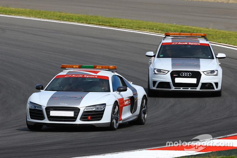 Audi safety vehicles