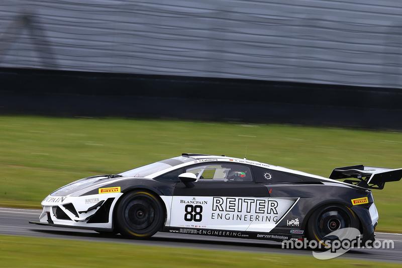 #88 Reiter Ingenieuring, Lamborghini Gallardo LP560-4 R-EX: Albert von Thurn und Taxis, Nicky Catsburg