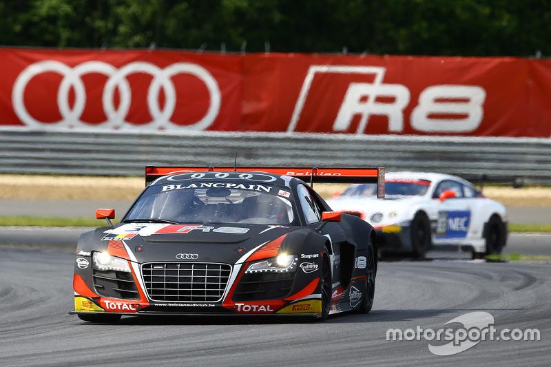 #3 Belgian Belgian Audi Club Team WRT Audi R8 LMS ultra: Stéphane Richelmi, Stéphane Ortelli