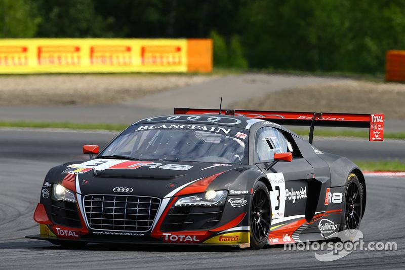 #3 Belgian Belgian Audi Club Team WRT, Audi R8 LMS ultra: Stéphane Richelmi, Stéphane Ortelli