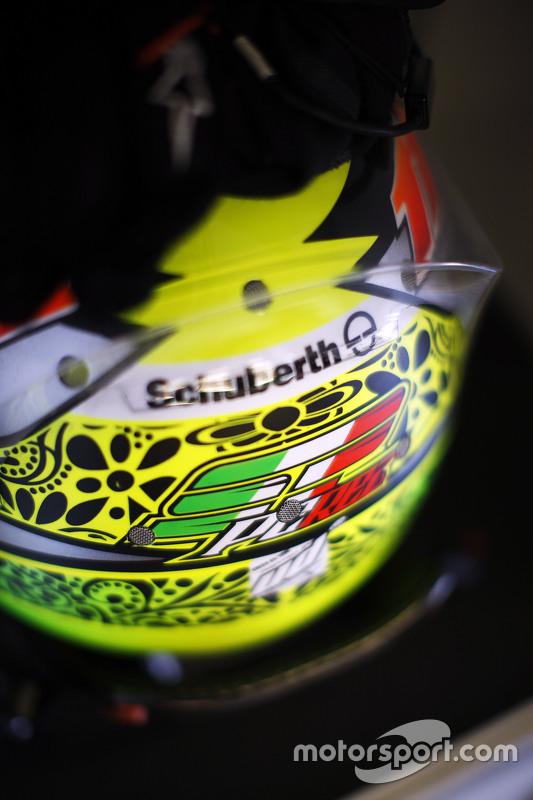 Helm Sergio Perez, Sahara Force India F1