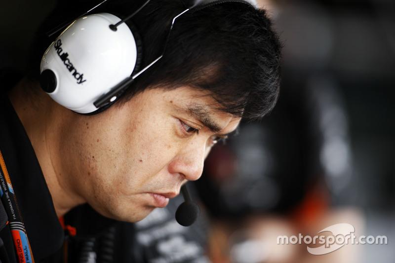 Jun Matsuzaki, Sahara Force India F1 Team, Leitender Reifeningenieur