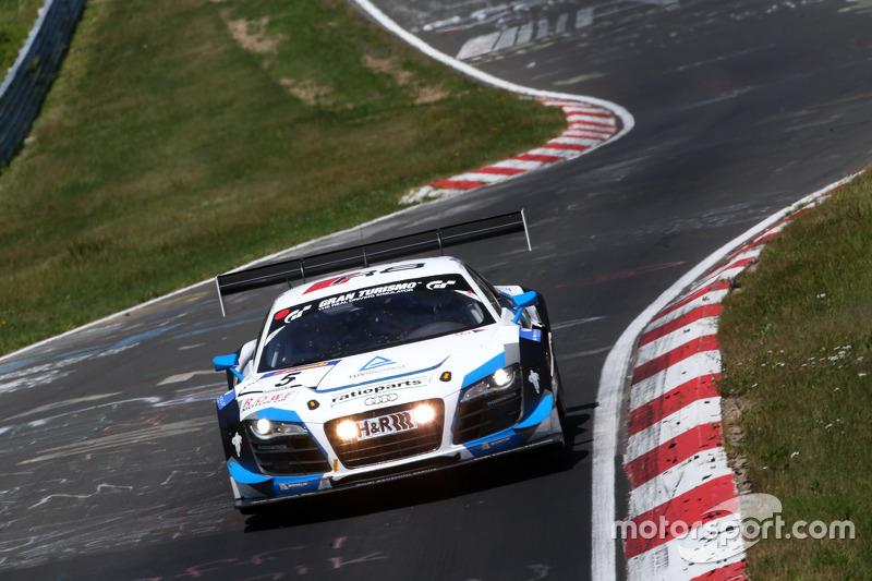 #5 Phoenix Racing, Audi R8 LMS: Ferdinта Stuck, Christian Mamerow