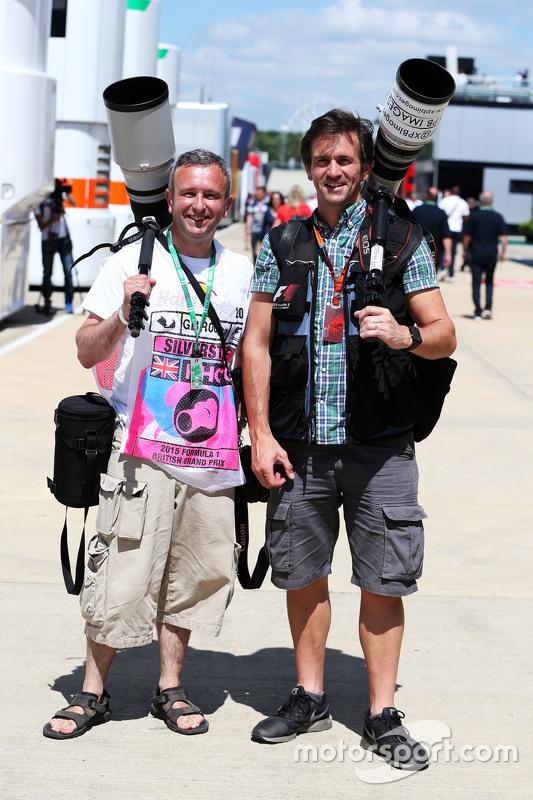Anthony Rew, fotograaf, met Russell Batchelor, XPB Images fotograaf