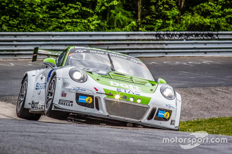 #92 Team Manthey, Porsche 911 GT3 Cup MR: Christoph Breuer, Andreas Cairoli, Sven Müller, Michael Ch