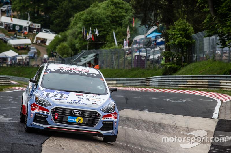 #131 Hyundai Motor Deutschland, Hyundai i30 Coupé Turbo: Markus Schrick, Peter Schumann, Michael Bohrer, Guido Naumann
