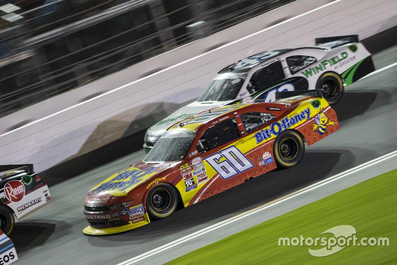 Кріс Бюшер, Roush Fenway Racing Ford та Дакода Армстронг, Richard Petty Motorsports