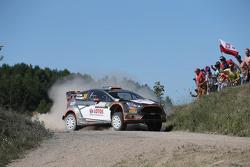 Robert Kubica e Maciek Szczepaniak, Ford Fiesta WRC