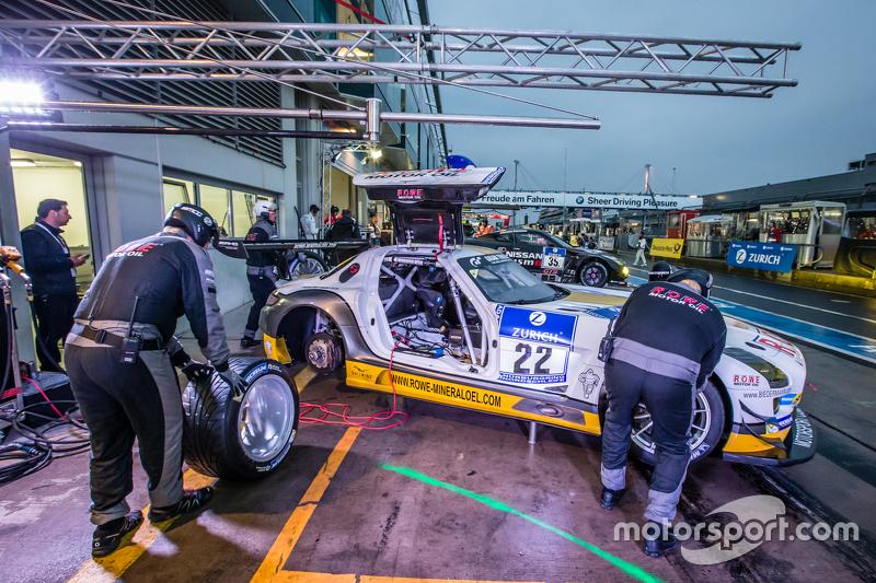 #22 Rowe Racing, Mercedes-Benz SLS AMG GT3: Maro Engel, Jan Seyffarth, Renger van der Zande, Thomas