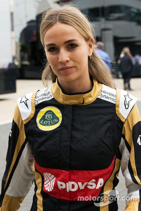 Carmen Jorda, pilota collaudatrice Lotus F1 Team