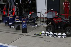 Frontpartien und Helme von Koiranen GP