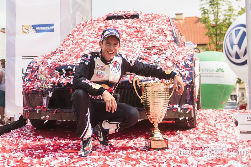 Siegreicher Copilot: Julien Ingrassia, Volkswagen Motorsport