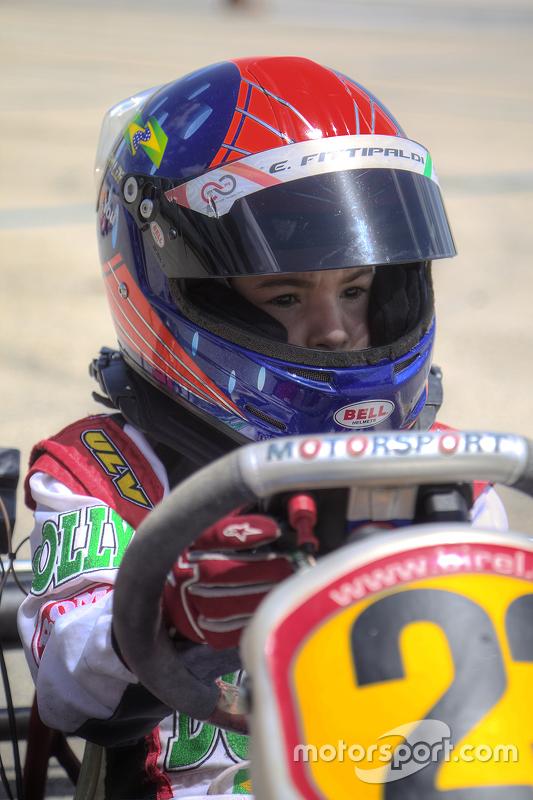Emerson Fittipaldi Jr. no Homestead Miami Speedway