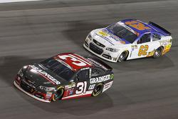 Ryan Newman, Richard Childress Racing, Chevrolet, und Brendan Gaughan, Richard Childress Racing, Che