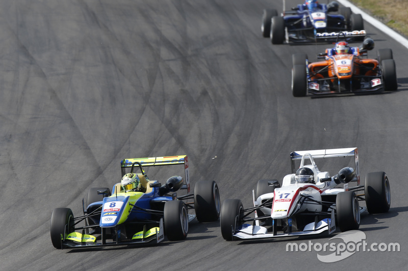 Alessio Lordani, Van Amersfoort Racing Dallara Volkswagen dan Julio Moreno, ThreeBond dengan T-Sport Dallara NBE