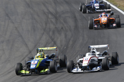 Alessio Lorandi, Van Amersfoort Racing Dallara Volkswagen and Julio Moreno, ThreeBond with T-Sport Dallara NBE