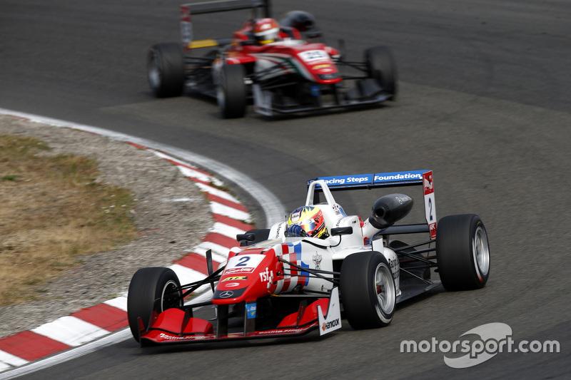 Jake Dennis and Lance Stroll, Prema Powerteam Dallara Mercedes-Benz