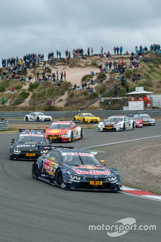start; Antonio Felix da Costa, BMW Team Schnitzer BMW M4 DTM