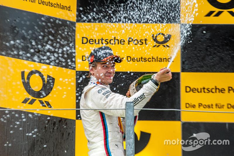 Second place Augusto Farfus, BMW Team RBM BMW M4 DTM
