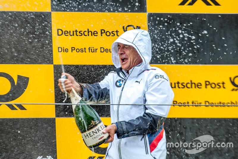 BMW Team Schnitzer bos tim Charly Lamm